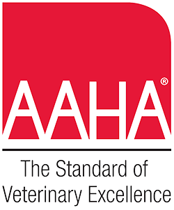 American Animal Hospital Association (AAHA) accreditation!